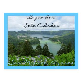Cartão Postal Lagoa DAS Sete Cidades