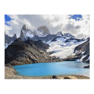 Cartão Postal Laguna De Los Tres, parque nacional do Los