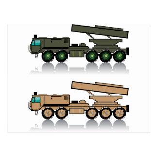 Cartão Postal Lança-foguetes do caminhão
