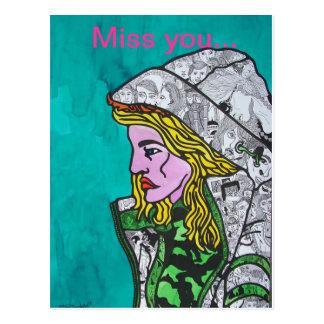 Cartão Postal Laura