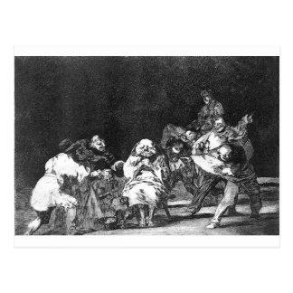Cartão Postal Lealdade por Francisco Goya