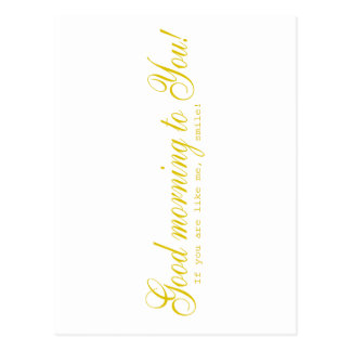 Cartão Postal Lembrança do sorriso