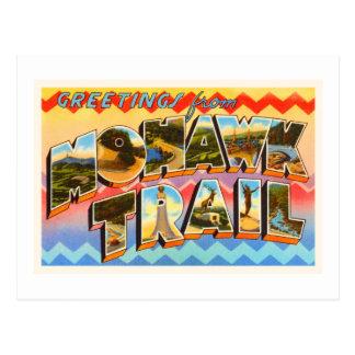 Cartão Postal Lembrança velha do viagem das MÃES de