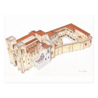 Cartão Postal Lisboa Portugal. Catedral