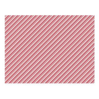 Cartão Postal Listras do bastão de doces