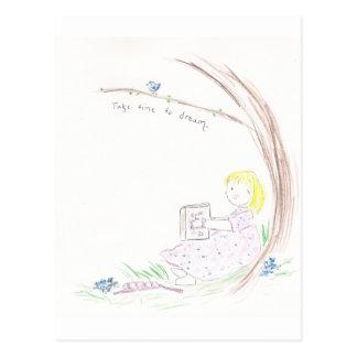 Cartão Postal Livro dos sonhos