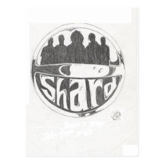 Cartão Postal Logotipo do estilhaço
