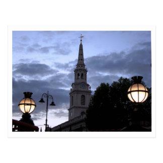 Cartão Postal Londres na noite
