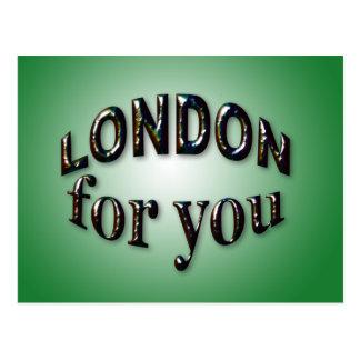 Cartão Postal Londres para você