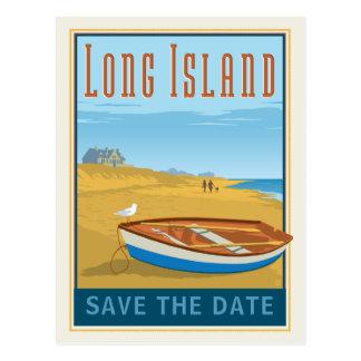 Cartão Postal Long Island, economias de New York | a data