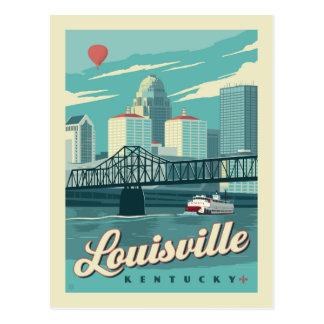 Cartão Postal Louisville, economias de Kenucky | a data