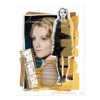 Cartão Postal Luna Lovegood