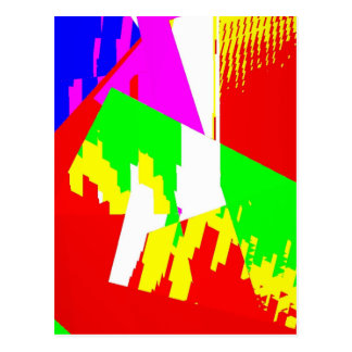 Cartão Postal Luz & ângulos