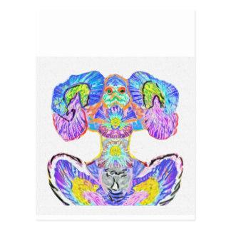 Cartão Postal Luz dentro: Meditação do poder por Naveen Joshi