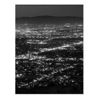 Cartão Postal Luzes da arizona de Phoenix na noite