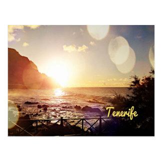 Cartão Postal Luzes da noite de Tenerife