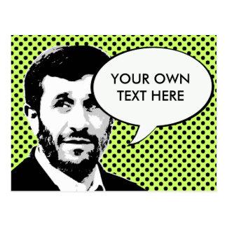 Cartão Postal Mahmoud Ahmadinejad