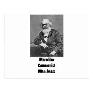 Cartão Postal Mais gostam de ManiBESTO!