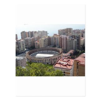 Cartão Postal Malaga, espanha