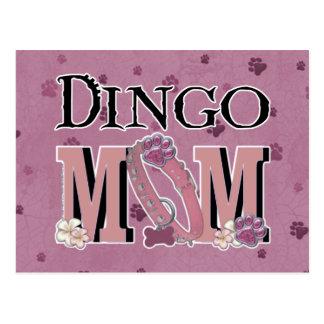 Cartão Postal MAMÃ do Dingo