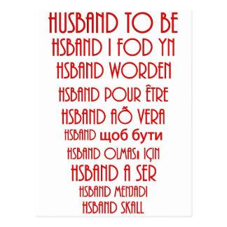 Cartão Postal Marido a ser