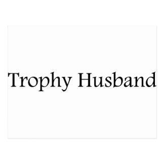 Cartão Postal Marido do troféu