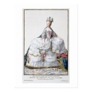 Cartão Postal Marie Antoinette (1752-93) 'de DES Estam de