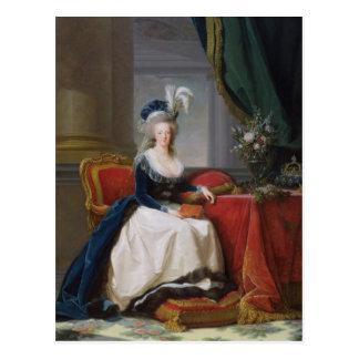 Cartão Postal Marie-Antoinette 1788