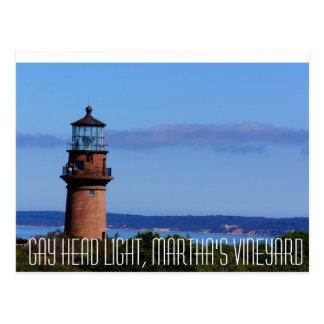 Cartão Postal Martha's Vineyard claro principal alegre