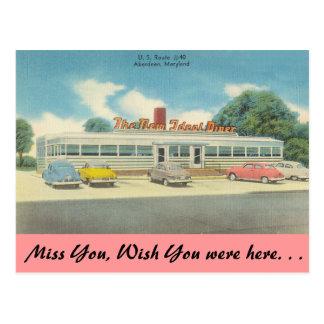 Cartão Postal Maryland, o comensal ideal novo