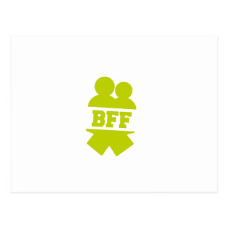 Cartão Postal Melhores amigos para sempre