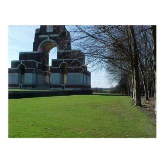 Cartão Postal Memorial de Thiepval