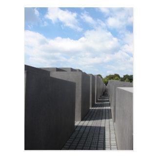 Cartão Postal Memorial do holocausto