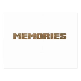 Cartão Postal Memórias…