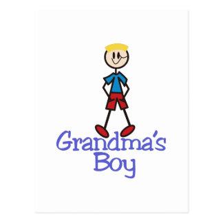 Cartão Postal Menino das avós