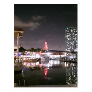 Cartão Postal Mercado Miami de Bayside