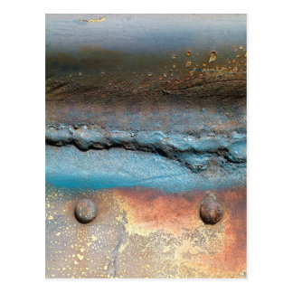 Cartão Postal Metal oxidado