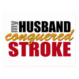 Cartão Postal Meu curso conquistado marido