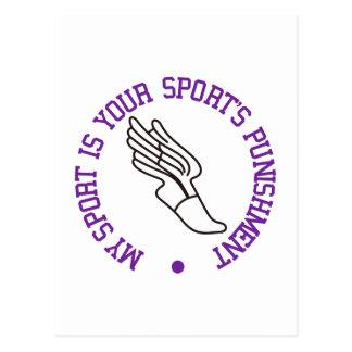 Cartão Postal Meu esporte é