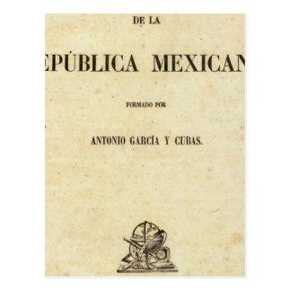 Cartão Postal México 7