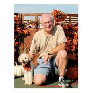 Cartão Postal Mickey - raça Photo-2 da mistura de Terrier