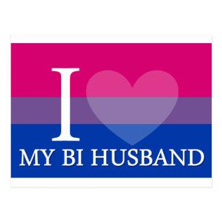 Cartão Postal Mim <3 meu marido do Bi