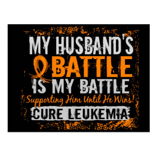 Cartão Postal Minha batalha marido de demasiado 2 leucemia