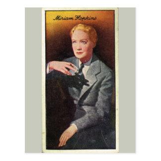 Cartão Postal Miriam Hopkins