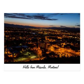 Cartão Postal Missoula, Montana