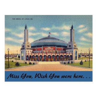 Cartão Postal Missouri, a arena, St Louis