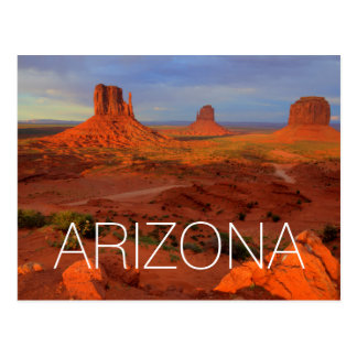 Cartão Postal Mitenes, vale do monumento, AZ