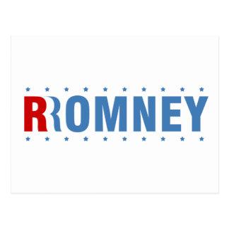 Cartão Postal Mitt Romney 2012