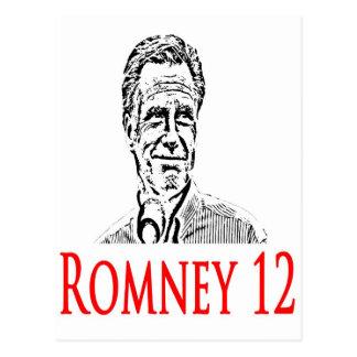 Cartão Postal Mitt Romney para o presidente