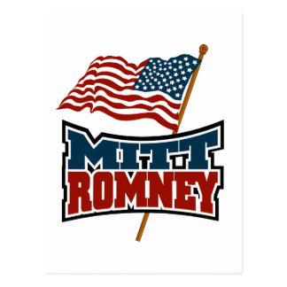 Cartão Postal Mitt Romney patriótico